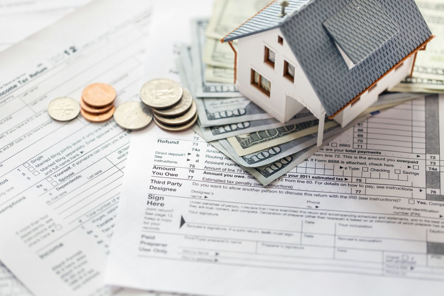 Calculating tax deducations for real estate professional