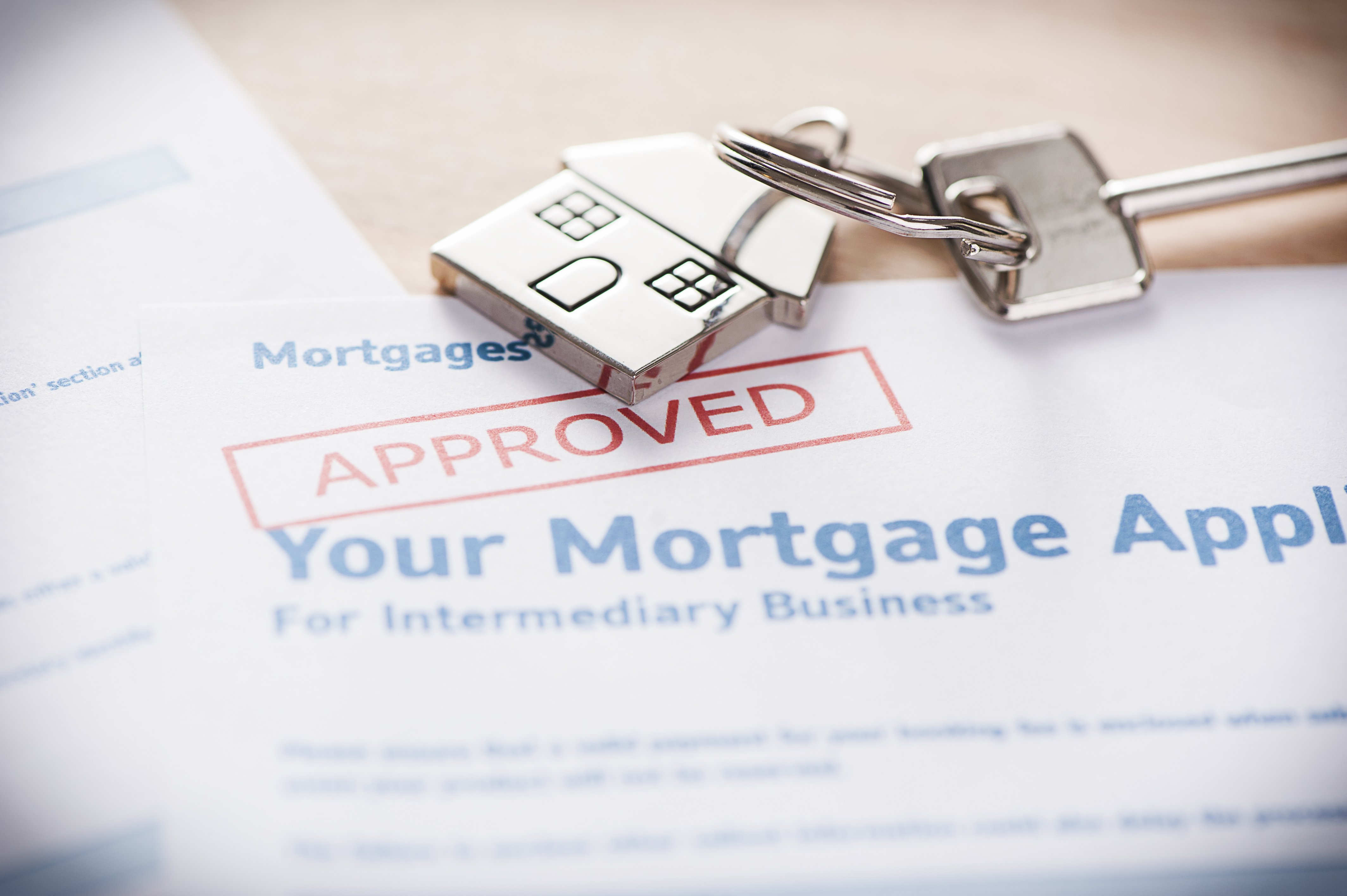 Mortgage loan approved by lender