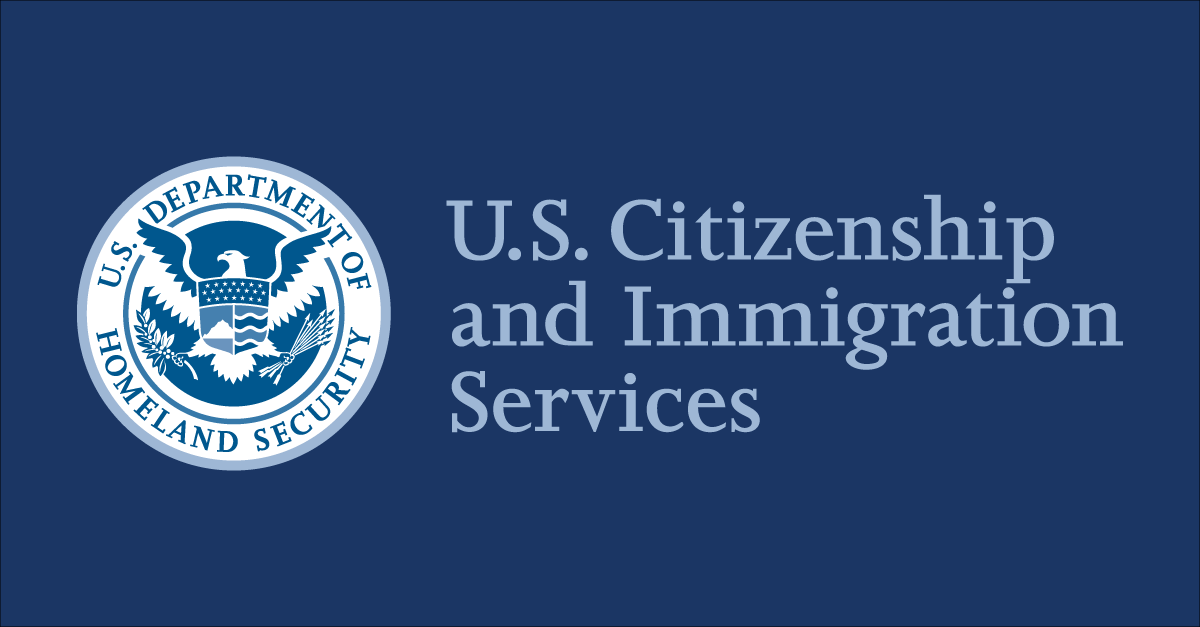 Us department of citizenship and immigration services logo